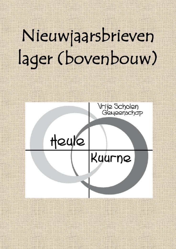 de nieuwjaarsbrieven 4 - 5 - 6 van de scholengemeenschap Heule-Kuurne