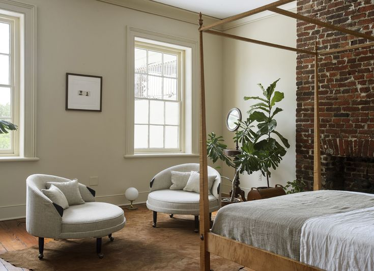 Neutral Bedroom Design by Workstead
