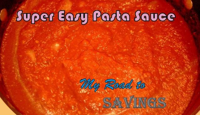 Super Easy Pasta Sauce | Recipes | Pinterest