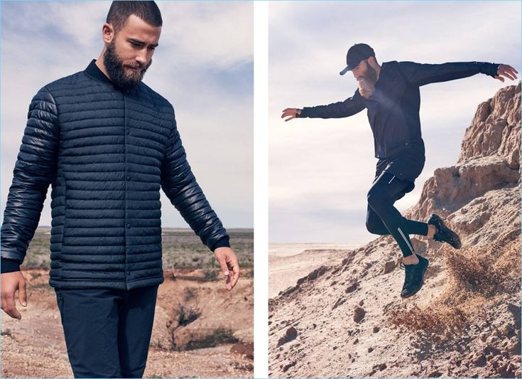 H&M 2017 Men's Activewear Style Edit