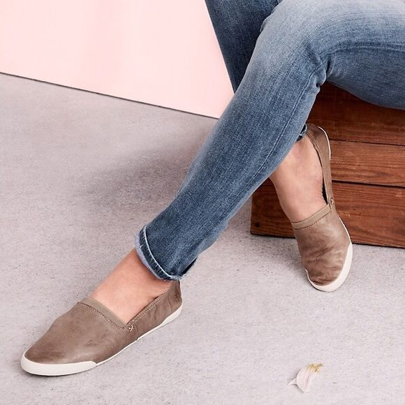 Frye Melanie Slip On The Everyday Shoe For Your Everyday Adventures This Slip On Deals With Whatever Life Throws Your Way C Frye Slip On Slip On Sneaker