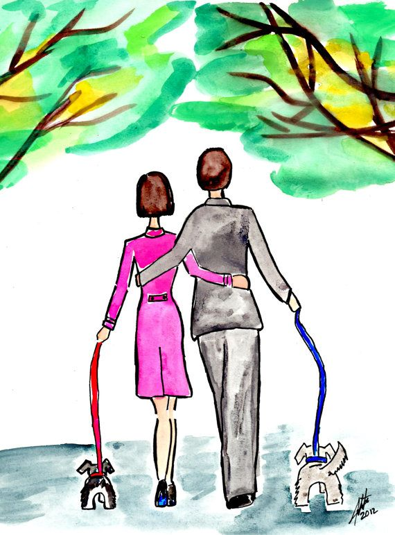 Walk in the Park by Monichika2 on Etsy, $20.00