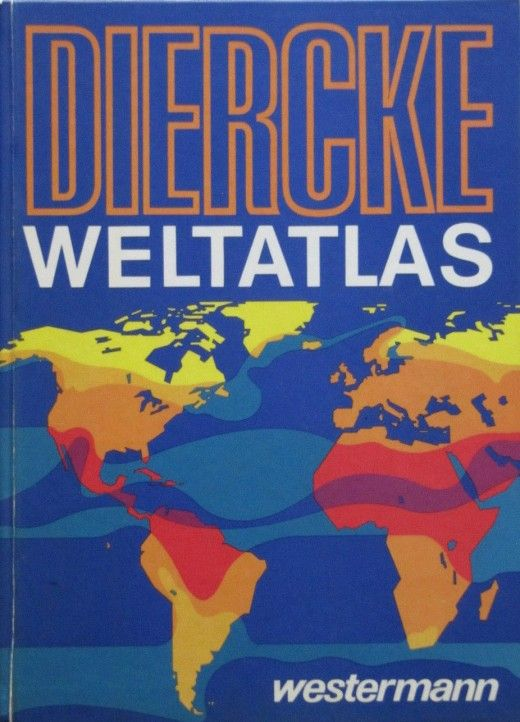 """Diercke Weltatlas - this is what I """"schlepped"""" to school every week ;-) ..."""