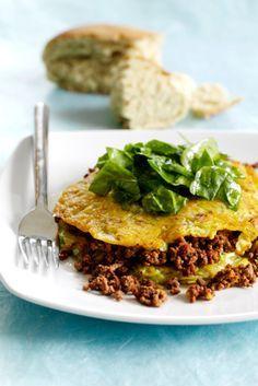 Pandekager med hvidkål er sunde og mætter dejligt grundet den grove kål og oksekødet