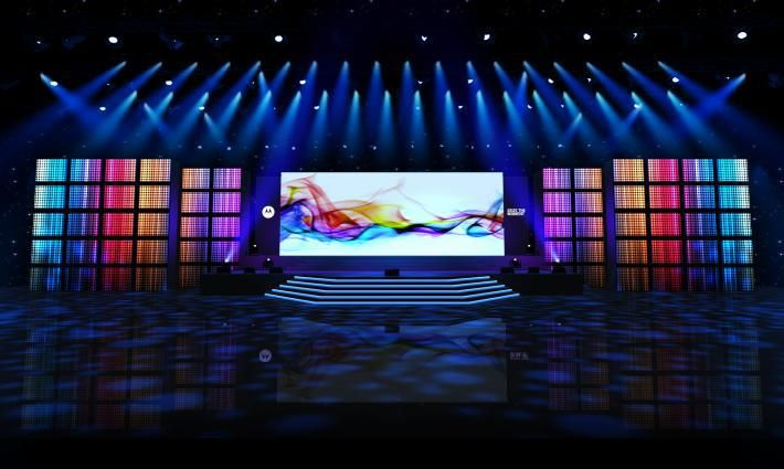 LED Wall Backdrop Social Stage Design Pinterest