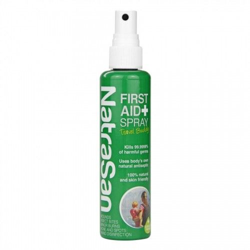 NatraSan First Aid is an antibacterial spray with a difference. It's a 100% natural product which is mild yet effective. NatraSan antibacterial spray contains stabilised hypochlorous acid, a gentle but incredibly efficient antiseptic solution which kills 99.9999% of harmful bacteria, viruses, fungi, yeasts and moulds in seconds. When used for bites, cuts, grazes and minor …