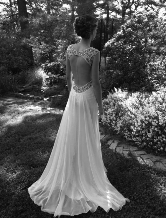 Love the dress from the back