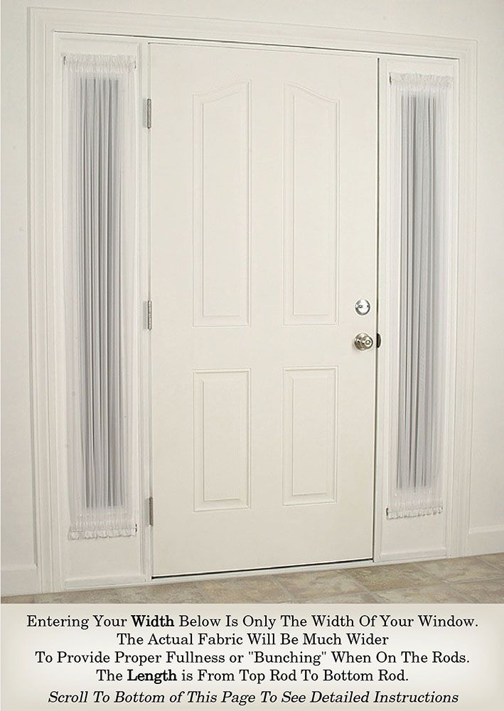 17 best ideas about door panel curtains on pinterest for 10 panel french door