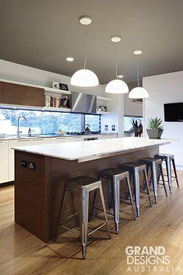 Grand Designs Australia_Clovelly_18 Love the window splashback & island with seating