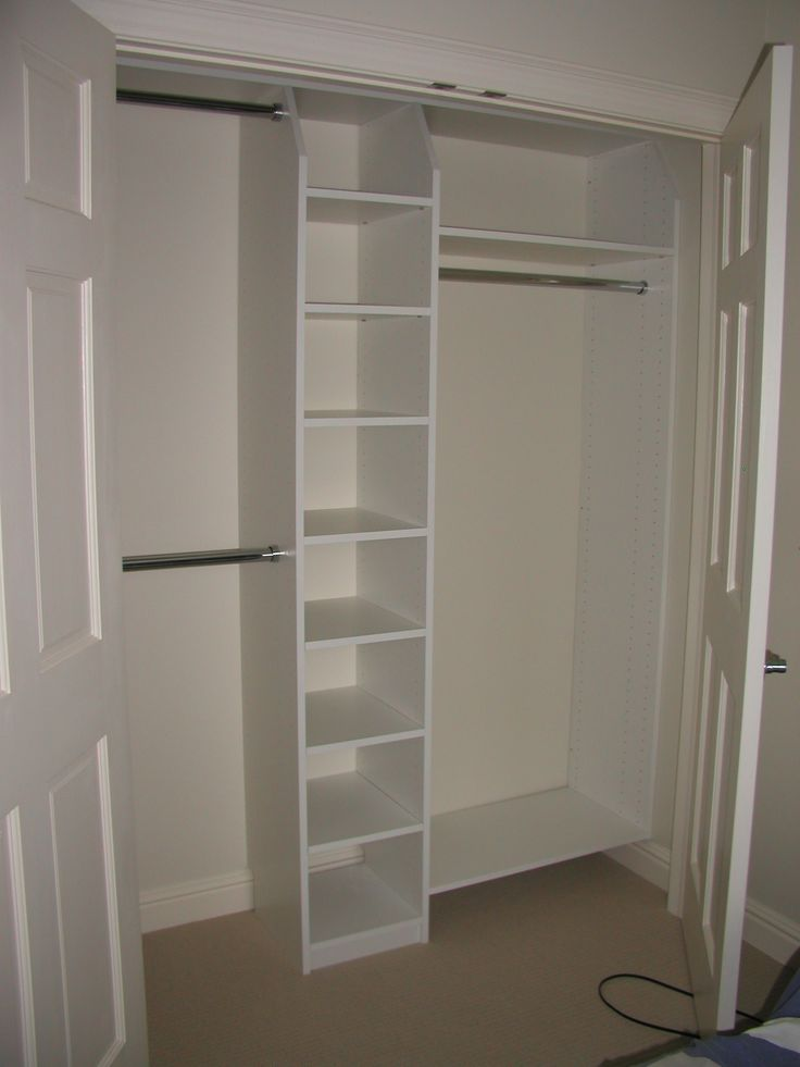 25 best ideas about closet solutions on pinterest diy closet ideas bedroom storage solutions - Small closet space minimalist ...
