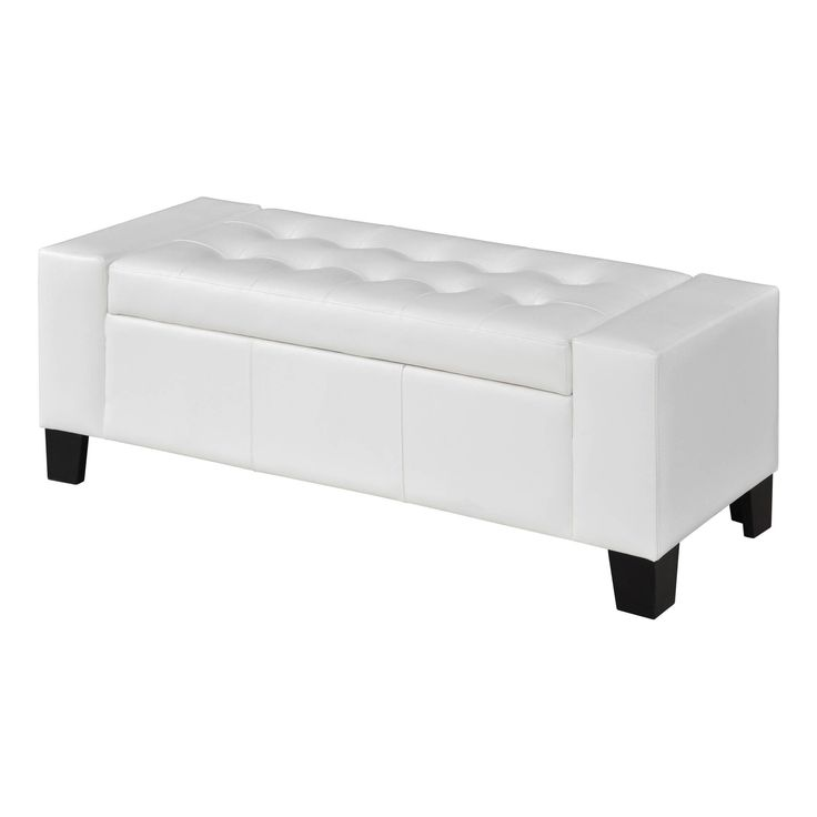 Somette Peekskill White Storage Ottoman Bench by Somette - 25+ Best Ideas About White Storage Ottoman On Pinterest Ikea