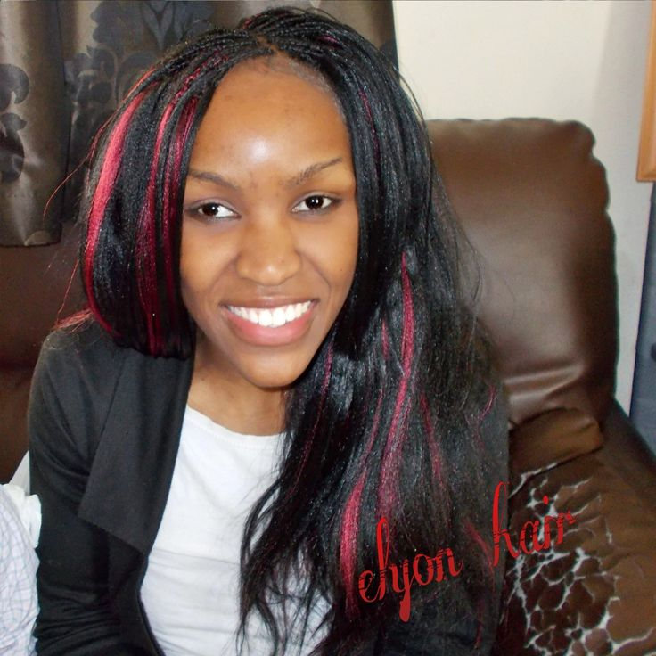 Crochet Xpression : Crochet + pick n drop braids with xpression hair More