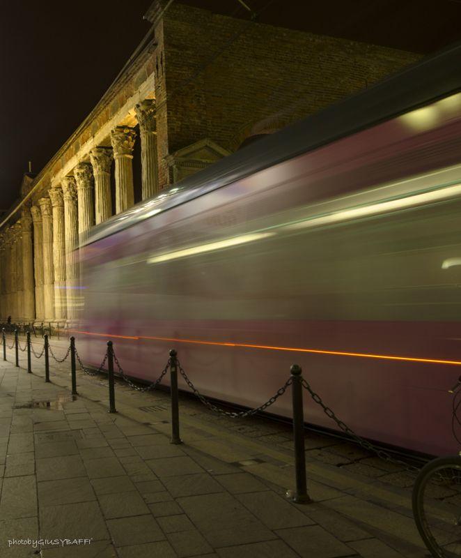 Tram Colonne Photo by GiusyBaffi ©