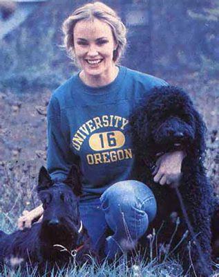 Collegiate Jessica Lange