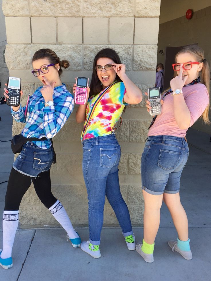 Nerd day for spirit week! Lol