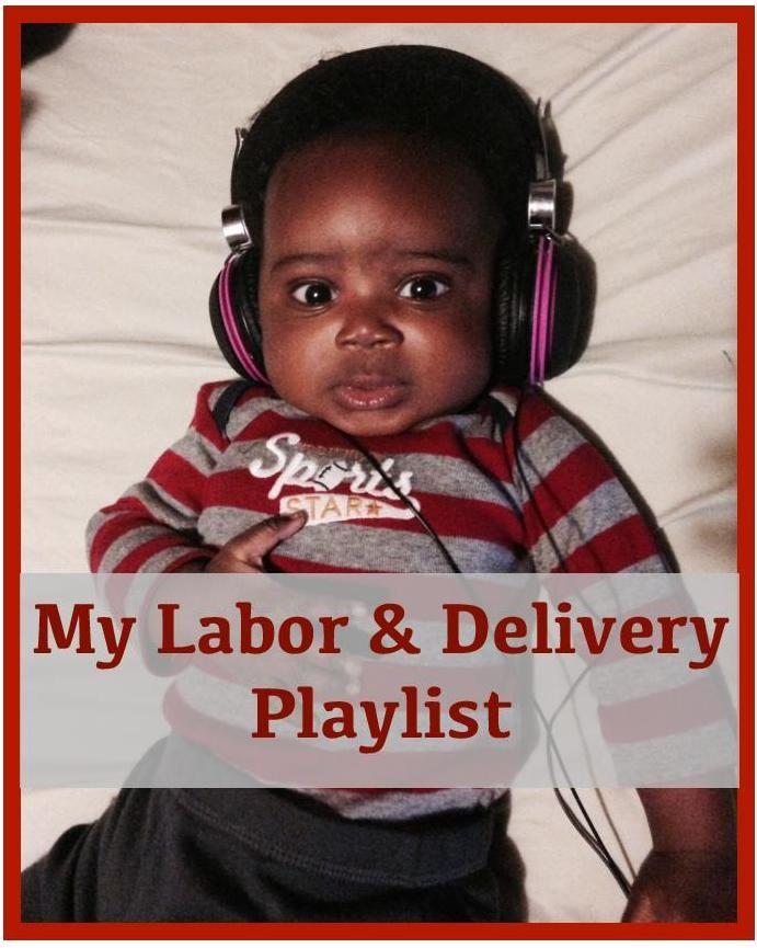 My labor and delivery playlist that got me through the toughest parts of labor. It's probably not what you were expecting!