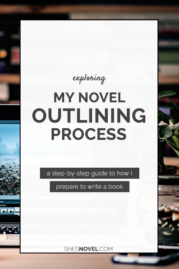 Want a personal look into how one author outlines her novels? Check out this outlining process breakdown from fantasy author Kristen Kieffer over on the She's Novel blog!