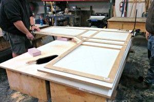 Los topes en concreto Bricolaje - construcción de formas