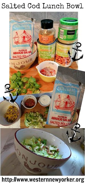 Western New Yorker: Salted Fish Lunch Bowl