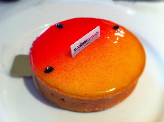 Passionfruit tart by Adriano Zumbo, one of my favourites!