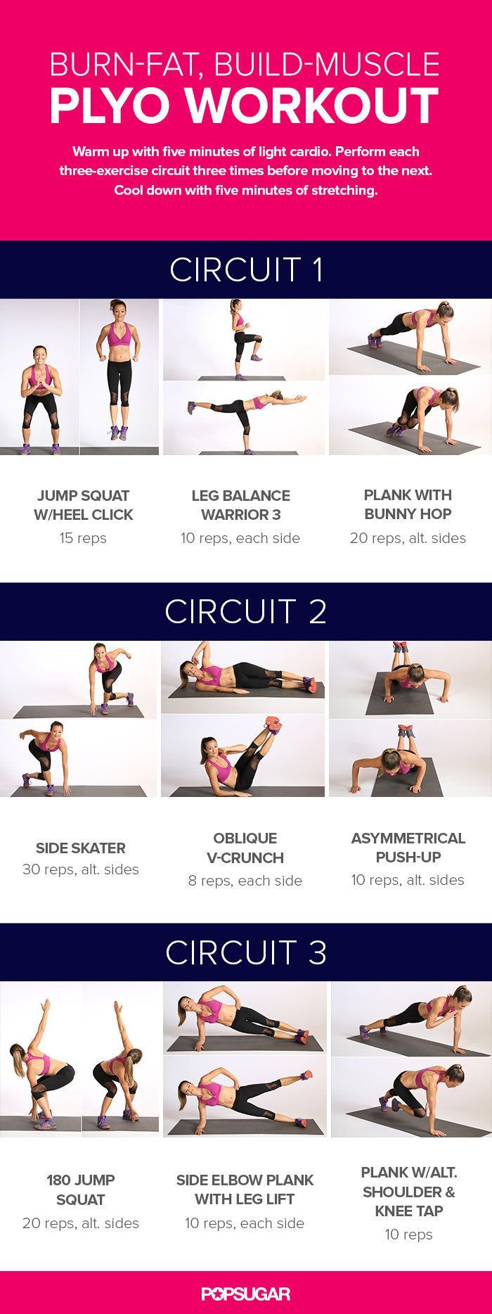 Printable Bodyweight Workouts | POPSUGAR Fitness UK