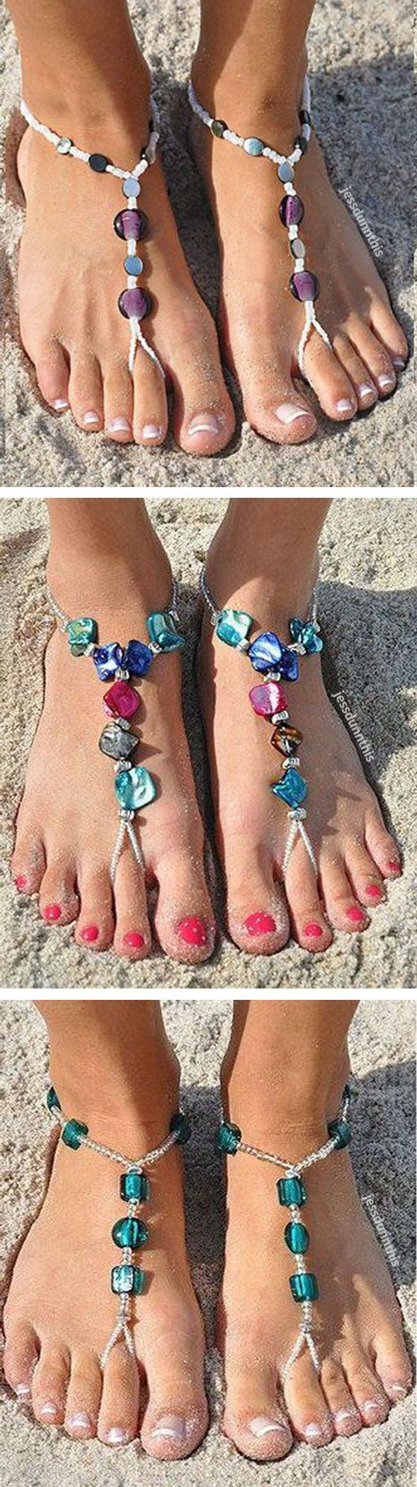1019 best Barfu Sandalen images on Pinterest Feet jewelry Anklet