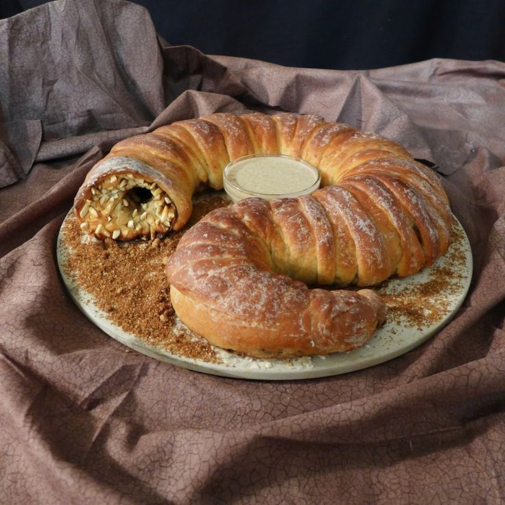 Kick Christmas Dinner Up a Notch With This Spice-stuffed Sandworm Bread