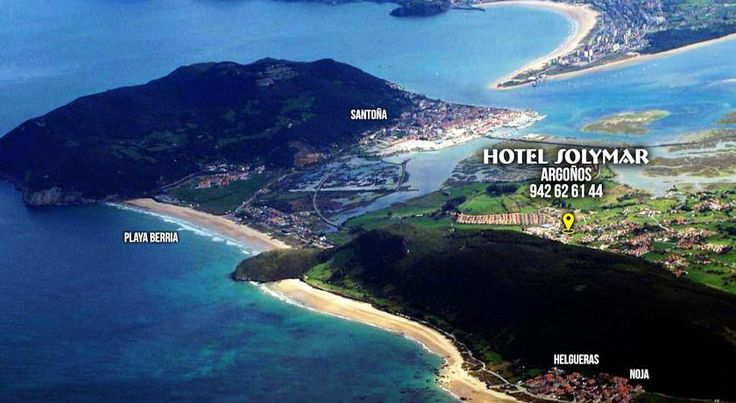 Hotel Solymar Argoños Set in Cantabria's Santoña, Victoria and Joyel Marshes Natural Park, Hotel Solymar is 800 metres from Berria Beach. This functional hotel offers free Wi-Fi access in the lounge.  Rooms at the Solymar have views of the wetlands and estuary of Santoña.