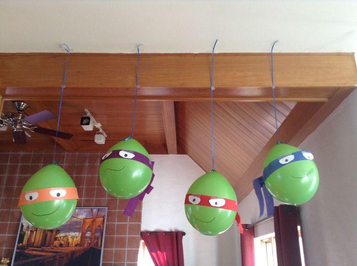 Ballons tortue ninja