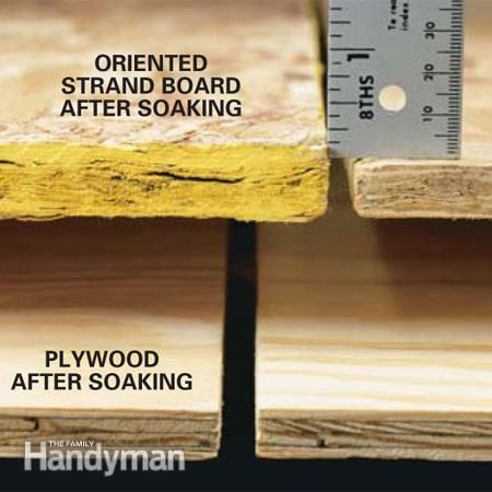 Oriented Strand Board vs. Plywood