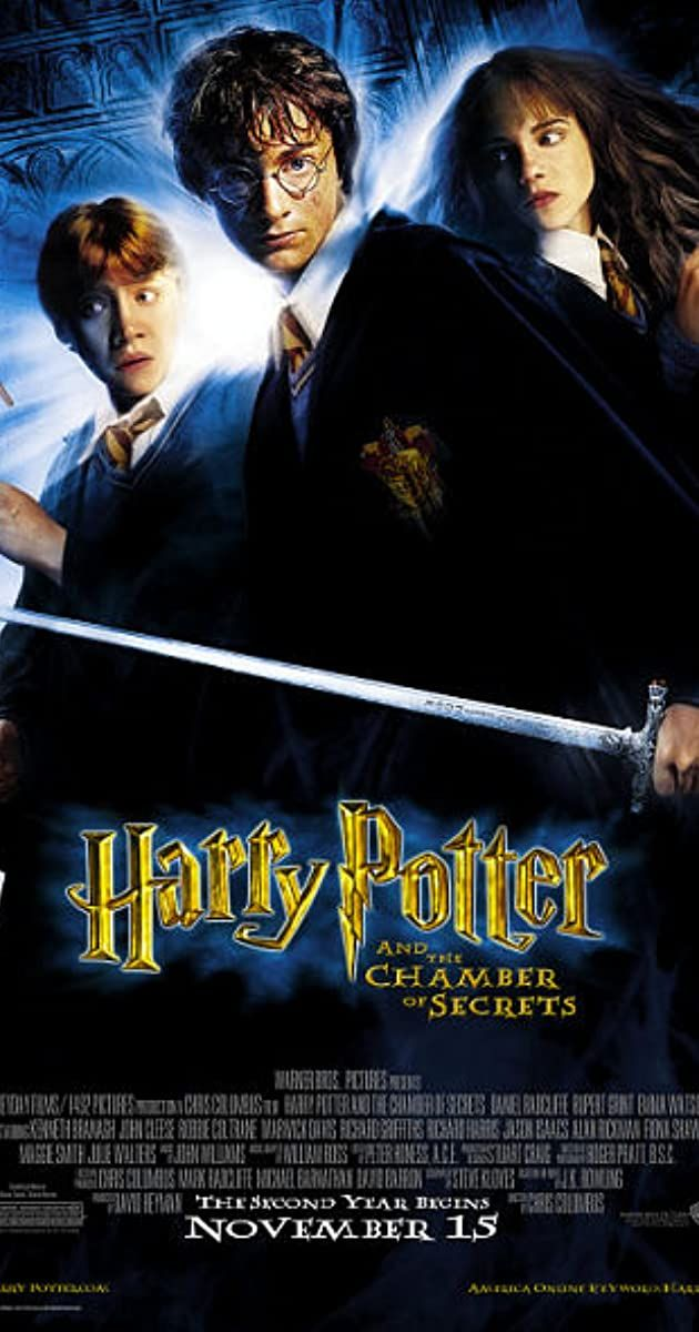 Directed By Chris Columbus With Daniel Radcliffe Rupert Grint Emma Watson Richard Harris An Harry Potter Full Movie Chamber Of Secrets Harry Potter Movies