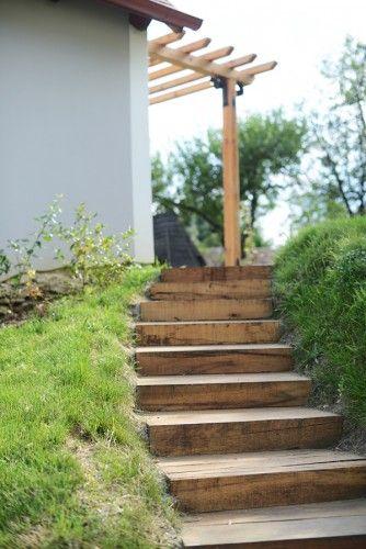 Kerti lépcső / Stairs in the garden