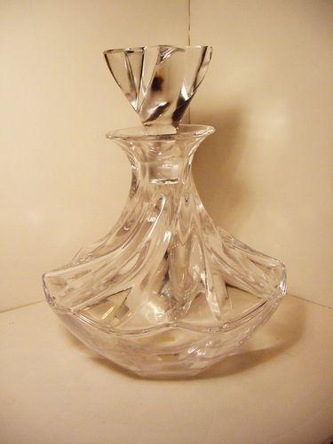 Lalique crystal decanter