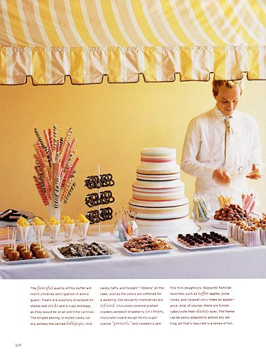 Love the lollipop tree idea & hanging chocolate covered pretzel tree-stand too....