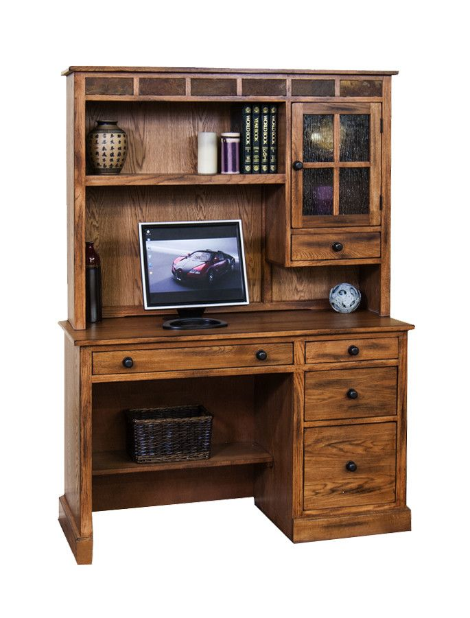 SD 2968RO D   49  Sedona Rustic Oak Computer Desk. Best 25  Oak computer desk ideas on Pinterest   Small l shaped