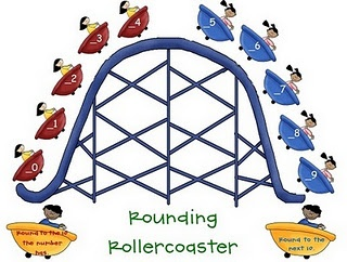 FREE rounding poster - there's one for rounding to the nearest ten and one for the hundreds.