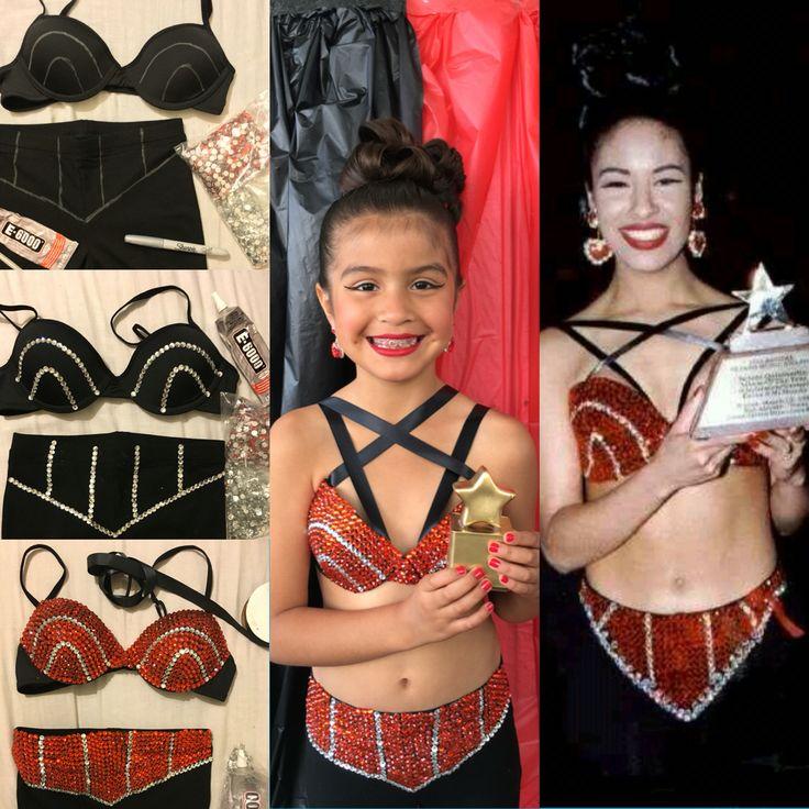 Selena Quintanilla Costume DIY #selenaquintanilla #diycostume #selenacostume
