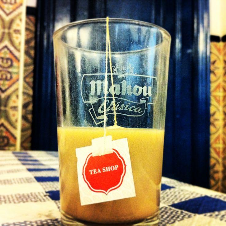 Té en vaso de cerveza #desencuentros #missingthepoint