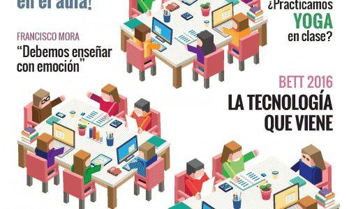 ¡Nº 21 de la Revista Educación 3.0 impresa!