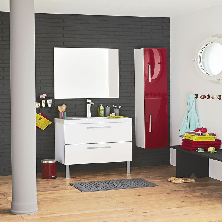 Ensemble de meubles pas chers pour la salle de bain salle de bain pintere - Ensemble salle de bain pas cher ...