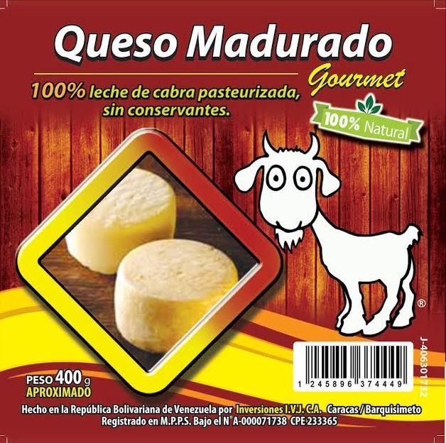100% Quesos De Cabra Maduaro un queso para difrutar con un vino tinto seco
