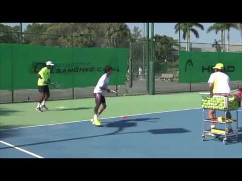 The Spanish Way To Better Movement On A Tennis Court Youtube