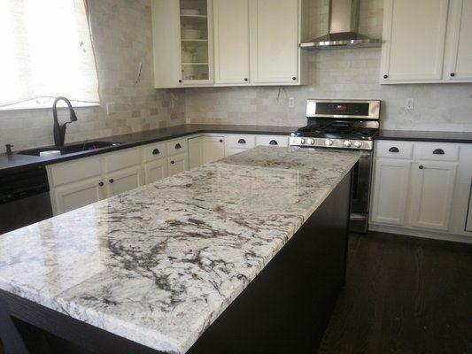 cold spring granite white cabinets - Google Search
