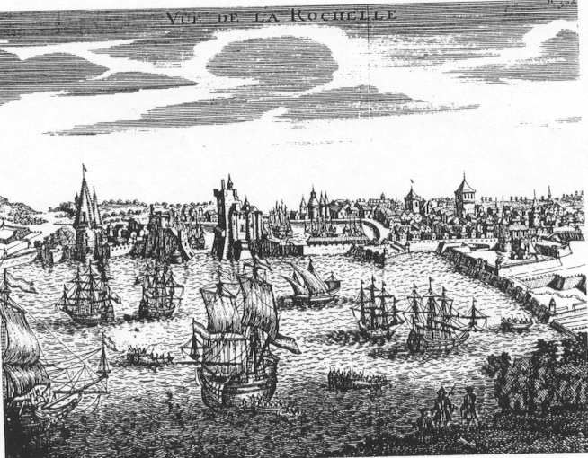 The French Huguenots from La Rochelle, France. New Rochelle, NY was founded by the Huguenots who fled France.