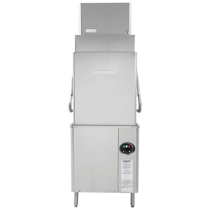 Hobart AM15VLT-2 Advansys Ventless Tall High Temperature Dishwasher with Booster Heater - 208-240V, 3 Phase