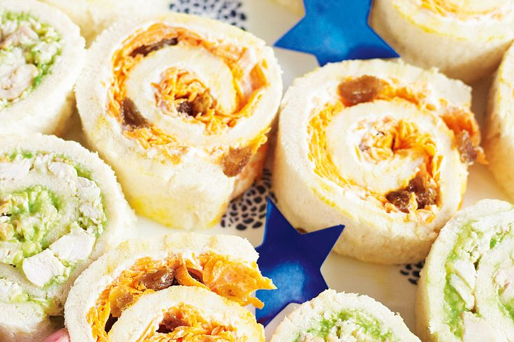 Roll up these exciting and delicious treats for the kids.