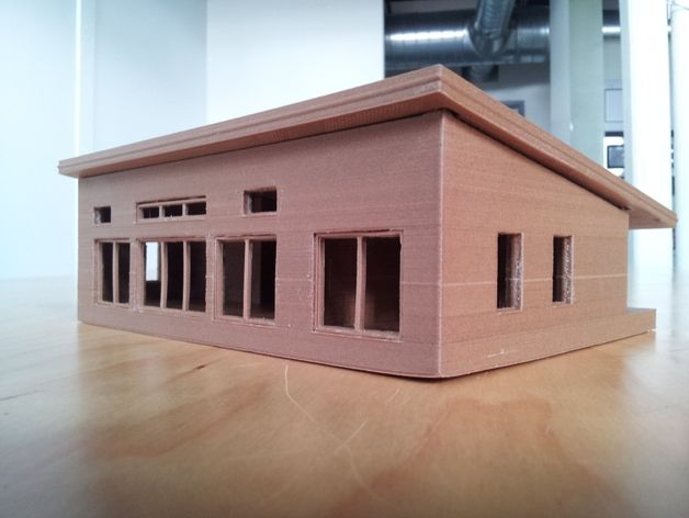 Build eco house model