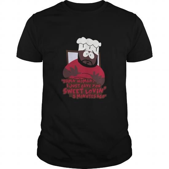 Awesome Tee Damn Woman Chef South Park T shirts