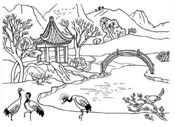Sketsa Gambar Pemandangan Hewan Di 2020 Halaman Mewarnai Sketsa