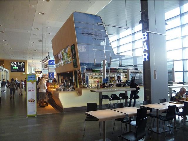 Stockholm's Arlanda airport duty free area